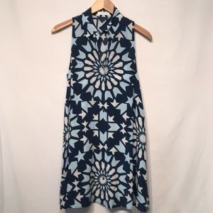 Equipment Femme Sleeveless Silk Dress Size XS